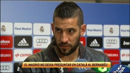 El català, vetat al Bernabéu