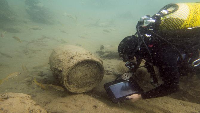 Els arqueòlegs acaben d'excavar el vaixell enfonsat a Deltebre, el reprodueixen en 3D i n'investigaran el nom a Londres