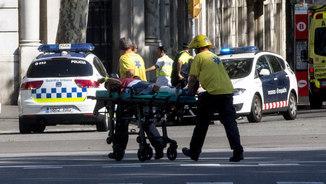 """Testimoni de l'atropellament a la Rambla de Barcelona: """"Esperàvem una tragèdia d'aquest tipus"""""""