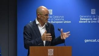 """Romeva: """"És possible que ens empresonin? Sí. La meva pregunta és: La UE ho pot acceptar?"""""""
