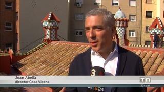 Obre al públic la Casa Vicens, la primera projectada per Antoni Gaudí