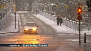 La neu afecta tot el país