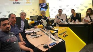 Jesús Rodríguez, Enric Hernández, Álex Sàlmon, Mònica Terribas, Manuel Cruz, Anna Serrano i Esther Vera