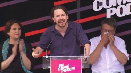 Acte central d'En Comú Podem a Barcelona