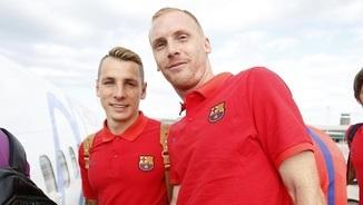 Lucas Digne i Jeremy Mathieu