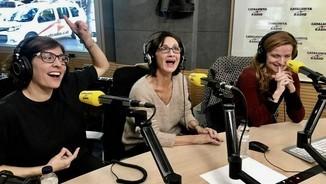 Clara Segura, Sílvia Munt i Cristina Genebat