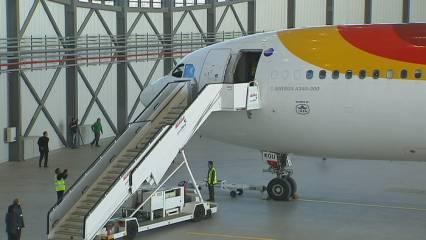 Hangar per acollir l'avió més gran del món