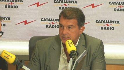 Joan Laporta a Catalunya Ràdio