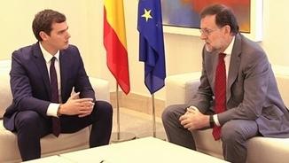 Rivera i Rajoy, en una imatge d'arxiu