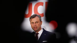 El candidat de l'extrema dreta, Norbert Hofer (Foto:Reuters)