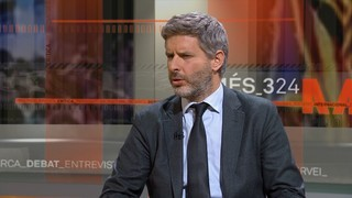 """Andreu Van den Eynde: """"Els consellers van decidir que anaven a les eleccions i això demostra que no hi haurà reiteració delictiva"""""""