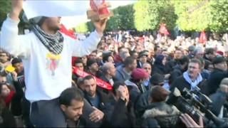 Les protestes socials marquen les celebracions del setè aniversari de la revolta