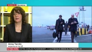 """Anna Terrón: """"L'euroordre regeix igual a tots els països. No crec que França sigui més garantista que Dinamarca o Alemanya"""""""