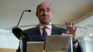 Luis de Guindos dona per fet que serà el futur vicepresident del Banc Central Europeu