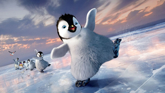 "Erik, el protagonista de ""Happy feet 2""."