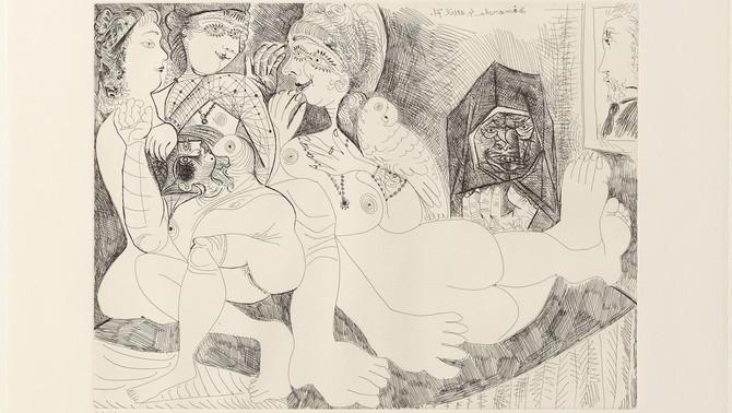 El Museu Picasso exposa la mostra 'Els 156 gravats'