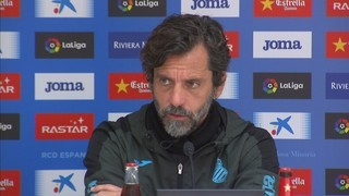Quique Sánchez Flores no vol confiances contra l'Sporting