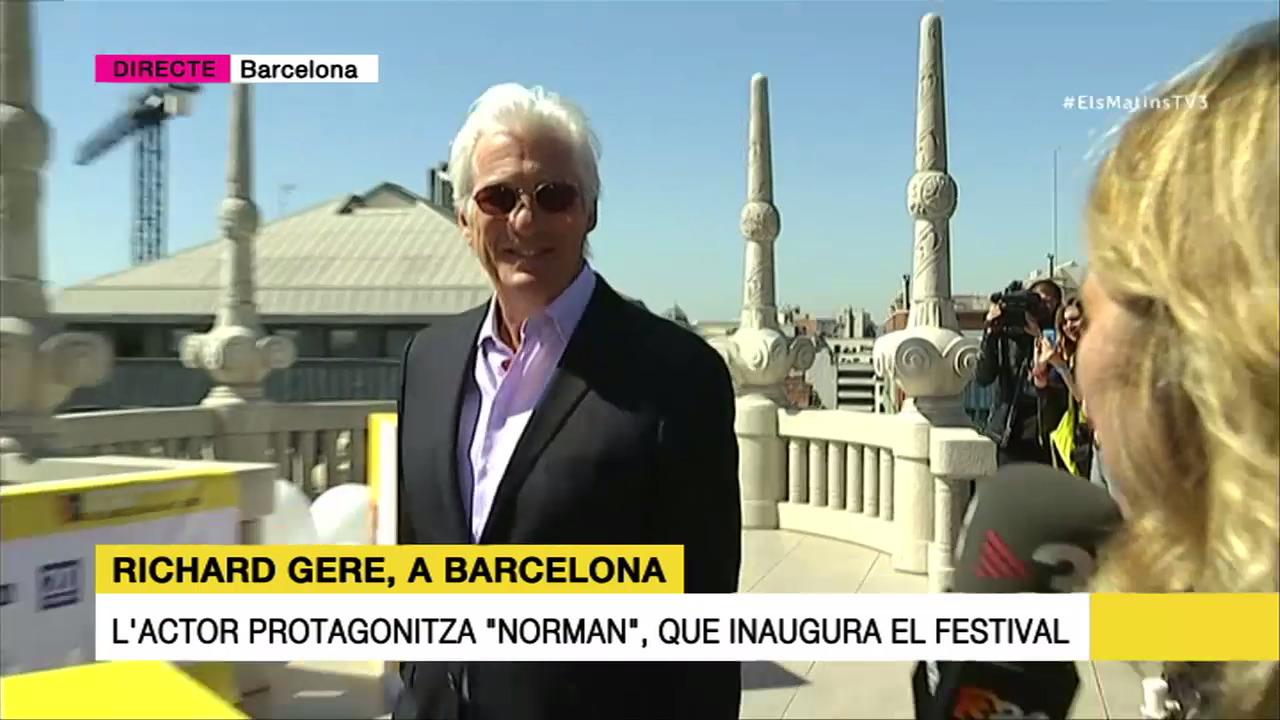 Richard Gere a Barcelona