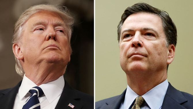 Donald Trump i James Comey (Reuters)