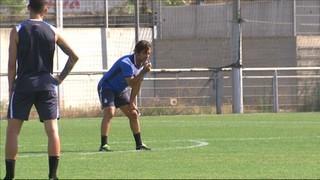 L'Espanyol s'entrena sense Felipe Caicedo
