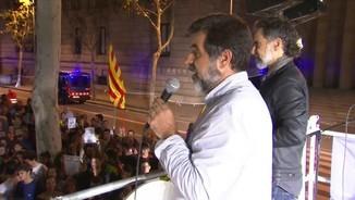 Jordi Sanchez i Jordi Cuixart