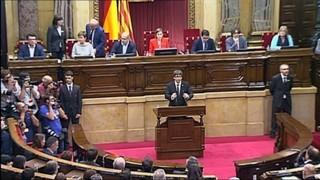 Què han dit Puigdemont i Rajoy?