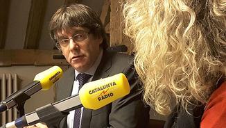 """Puigdemont: """"Hi ha gent a la presó, el 21D no tenim cap altra alternativa que anar plegats"""""""
