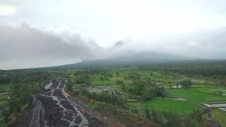 Erupció del volcà Mayon (Reuters)