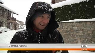 Hotels plens a la Cerdanya perquè molta gent ha quedat atrapada per la neu