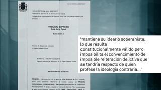 Llarena nega la llibertat a Sànchez perquè manté l'ideari independentista