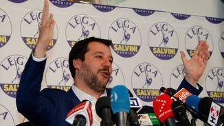 Salvini, eufòric (Reuters)
