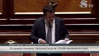 Itàlia, indignada per l'incompliment en l'acolliment de refugiats dins la UE