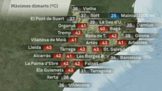Es van batre molts rècords de calor