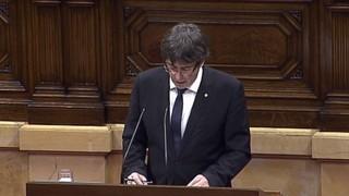"""Portada Terribas: """"Declaració d'independència sense proclamació de la república. Ho deu haver entès Rajoy?"""""""
