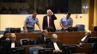 """Condemna al """"carnisser dels Balcans"""""""