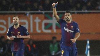 A 27 metres! El quart gol del Barça a Anoeta