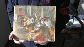 Troben en un autobús prop de París un Degas robat fa nou anys a Marsella