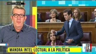 "La ""mandra intel·lectual"" de la política espanyola, segons Max Pradera"