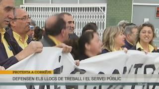 protesta personal de Correus