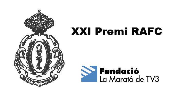 XXI Premi RAFC a la Fundació La Marató de TV3