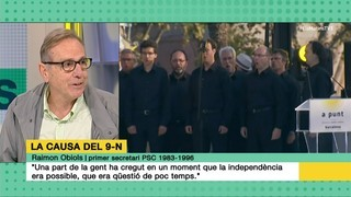 "Raimon Obiols: ""L'espectacle del comitè federal del PSOE era desolador"""