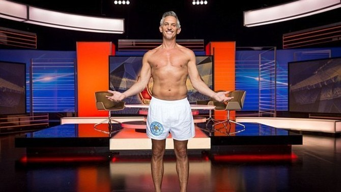 "Així es va presentar Lineker a principis de temporada en el programa ""Match of the Day"", de la BBC (dailymail.co.uk)"
