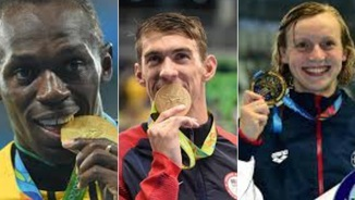 Phelps, Bolt i Ledecky arrasen a Rio
