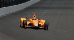 Fernando Alonso a Indianapolis (Reuters)
