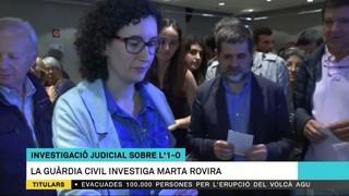 La Guàrdia Civil investiga Marta Rovira
