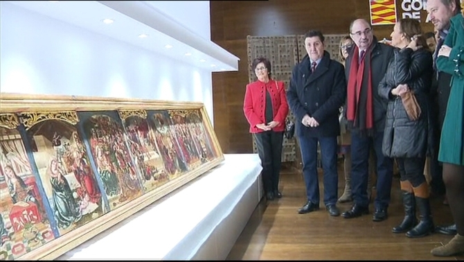 """L'Aragó podria demanar indemnitzacions pel """"mal estat"""" de les obres de Sixena"""