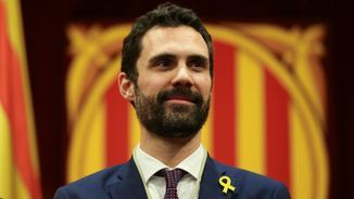 Roger Torrent, president del Parlament (Reuters)