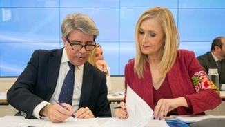 Ángel Garrido i Cristina Cifuentes