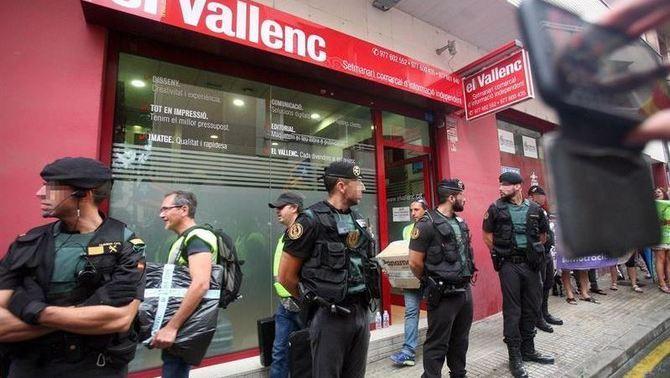 El govern espanyol té a punt 4.000 agents per enviar a Catalunya en 24 hores