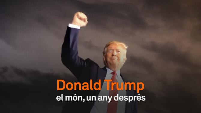 Donald Trump: el món un any després